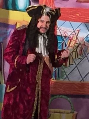 2016 Playing Captain Blood in Dick Whittington · By: A member of the audience