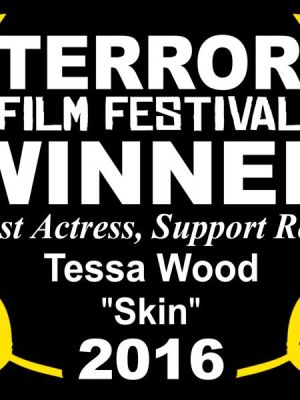 2017 Best Supporting Actress Certificate · By: Terror Festival