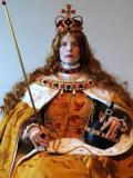 2008 Coronation portrait Elizabeth First · By: Carlos Ordonez