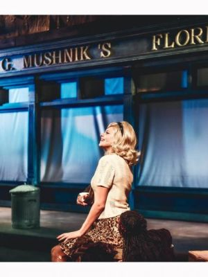 Georgina White as Audrey in Little Shop of Horrors (Theatr Clwyd)