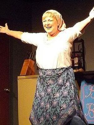 Helly Chester as Dolly in The Kitchen Witches · By: The Saugeen Times