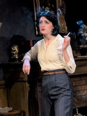 Helly Chester as Mrs. Boyle in The Mousetrap by Agatha Christie with Lauren Saunders as Mrs. Casewell · By: Seanna Kennedy