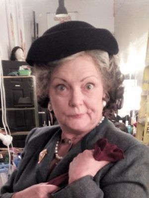Helly Chester as Mrs. Boyle in Agatha Christie's The Mousetrap - backstage · By: Lauren Saunders