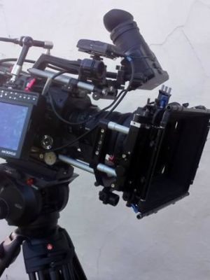 2017 FS7 with Mattebox, Black Pro mist Filters and 7 inch directors monitor · By: Static Airwaves Ltd