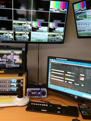 2017 Vision Mixer / Director's desk at Towcester · By: Static Airwaves Ltd