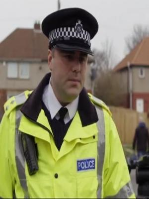 2017 As Inspector Ian Gayles in The Moorside for BBC One · By: Production Still