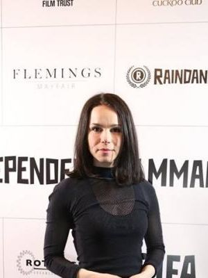 2016 Catherine full length photo · By: Raindance film festival official photographer