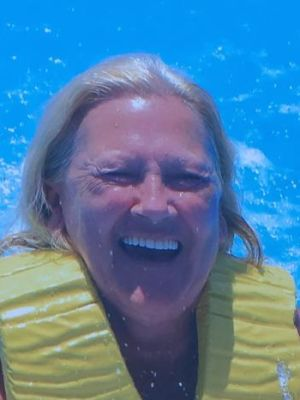 1st swim with dolphins