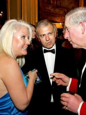 2008 HRH Prince of Wales and Daphne Barak · By: Royal photographer