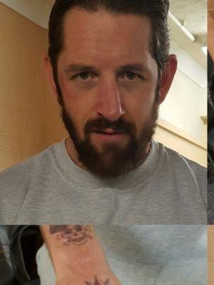 Stu Bennett aka Wade Barrett Tattoos, Hair and Makeup