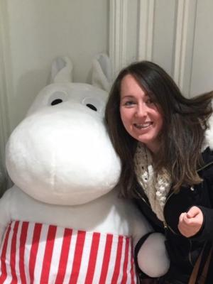 Me @ Stockholm Fringe (Found a Moomin) · By: Andrew Silverwood