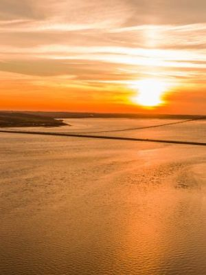 Humber Bridge from the air - taken with DJI Inspire 1 Pro