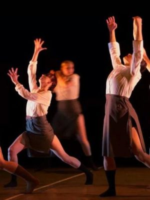 """2015 Severine performs in """"The things we lost in the fire"""" Choreographed by Vuyo Mahashe · By: Unknown Photographer"""