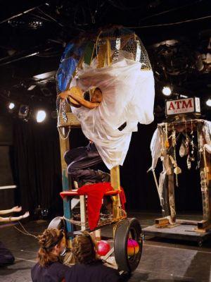 2016 The Tool and Man Sculptures : Triskelion Theater · By: Niki Singleton