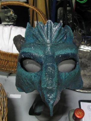 Dragon Mask 1 · By: Matt Lee Newby
