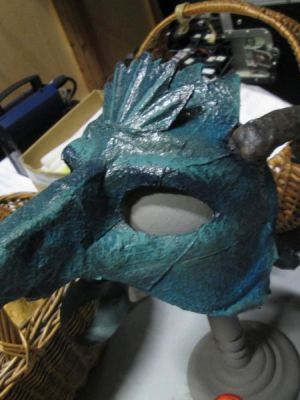 Dragon Mask 2 · By: Matt Lee Newby
