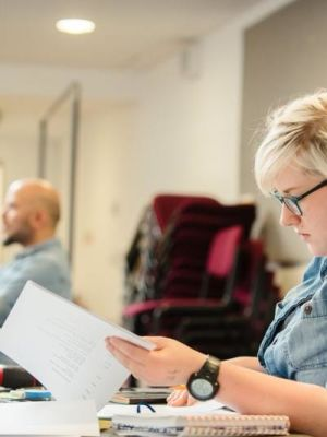 In Rehearsals for the 24hr Plays, Bristol Old Vic · By: Jack Offord