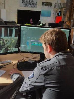 Finding Hope Short film editing