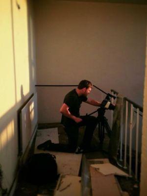 Black Magic Cinema Camera Operating