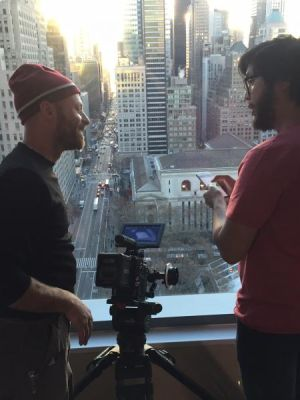 2016 DP on a Sales Force Shoot NYC Sunrise · By: Jeffrey Wager