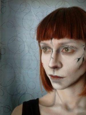 2017 SFX makeup for Deronda Music Video · By: Sierra Kane