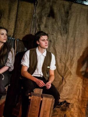In 'My Friend Peter' playing Bertrum Potter at Edinburgh Fringe Festival