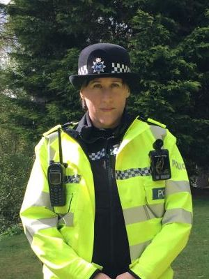 Police own uniform