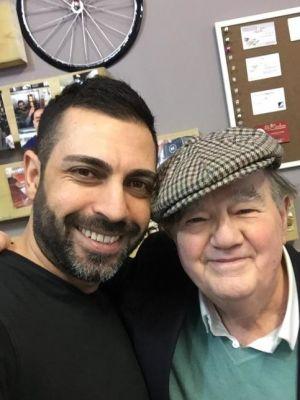 Gerry at Mustapha's Cuckoo Cafe, Hanwell