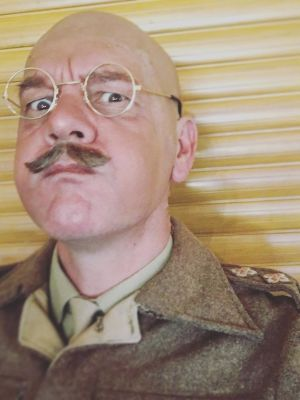 2017 Captain Mainwaring in a stage production of Dad's Army · By: Rob Barton