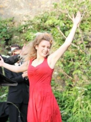 2012 Chloe Orrock as Juliet (Romeo and Juliet) · By: Cate Nunn for Tomahawk Theatre Company
