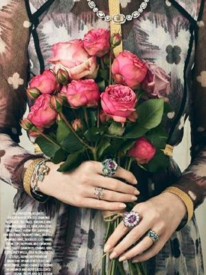 2016 Hand Model 2016 HARPER'S BAZAAR, TOWN & COUNTRY SUM 2016, Fine Jewellery and Flower Arranging · By: Paul Zak