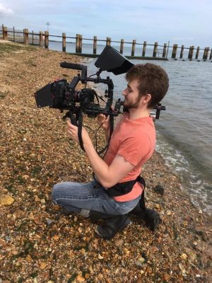2017 Filming on the beach · By: Kristian Fitsall