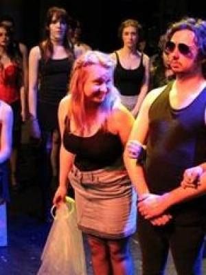 As Alaide in play THE WEDDING DRESS, East 15 Acting School