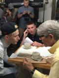 2016 Directing Eric Roberts and Bek Markas on the set of That Was NY · By: Michael Valentino