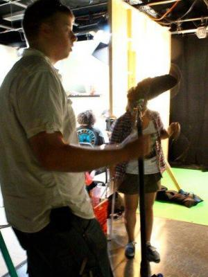 2014 On set as Visual Effects supervisor · By: chad