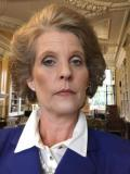2017 Margaret Thatcher headshot · By: Penelope Wildgoose