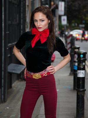 2017 Street Fashion  |  Actor: Kaily O'Brien · By: Antonello Marini