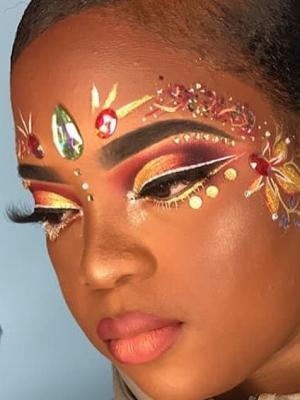 Carnival makeup 2017