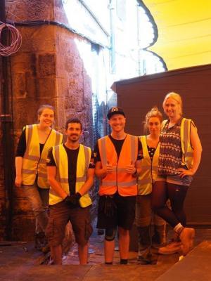 Edinburgh Fringe 2017 Site Build 2 · By: Sean Ford