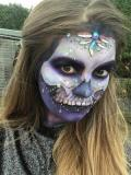 2017 Skull Make-up on myself · By: alex knights