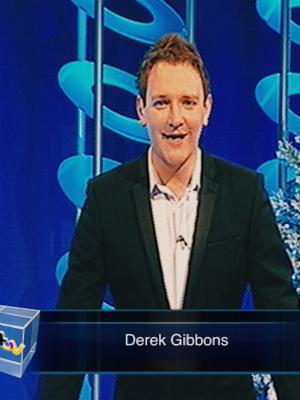 Derek Gibbons - TV Presenter - ITV 1 Late night programming