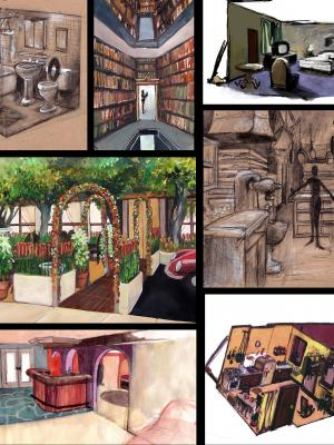 2015 set SKETCHES · By: Carey Rothman