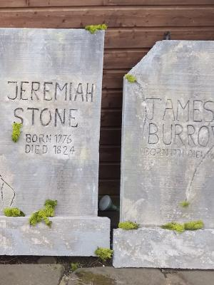 Gravestones for A Christmas Carol · By: karen davies