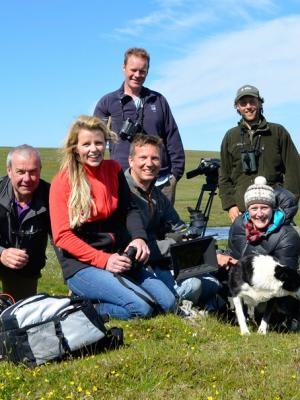 2013 Stefan with the Countryfile team · By: James Stevens