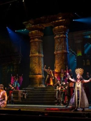 Samson Temple2 · By: Sight and Sound Theatres tm