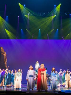 Moses Finale · By: Sight and Sound Theatres tm