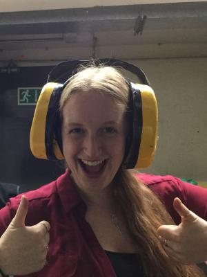 Medium comedy ear defenders · By: karen davies