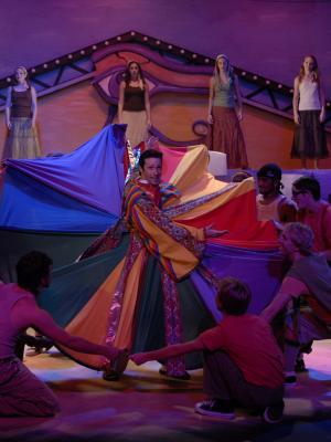 Joseph and the Amazing Technicolor Dreamcoat-Ozark Actors Theatre Production Photo · By: Greg Hanson