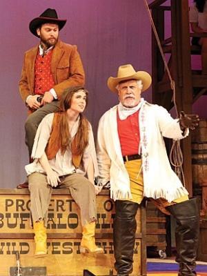 Annie Get Your Gun-Kirkwood Theatre Guild Production Photo · By: John Lamb
