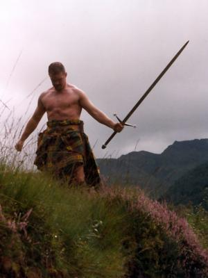 2013 D.A>J. with sword in Highlands · By: Iain ???